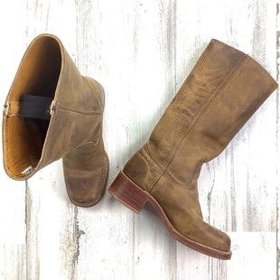 Primary Photo - BRAND: FRYE STYLE: BOOTS ANKLE COLOR: TAN SIZE: 7.5 SKU: 258-258111-11756