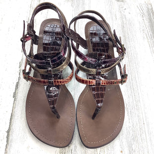 Primary Photo - BRAND: MADDEN GIRL STYLE: SANDALS LOW COLOR: BROWN SIZE: 8 SKU: 258-25885-33553