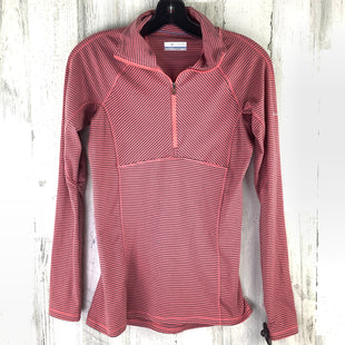 Primary Photo - BRAND: COLUMBIA STYLE: ATHLETIC TOP COLOR: PEACH SIZE: XS OTHER INFO: GREY STRIPED PULLOVER HALF ZIPSKU: 258-25898-12988