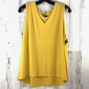 Primary Photo - BRAND: ANN TAYLOR STYLE: TOP SLEEVELESS COLOR: YELLOW SIZE: XL SKU: 258-258113-9075