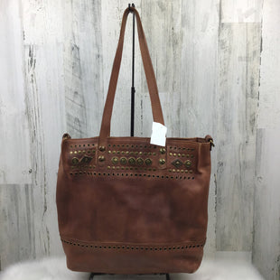 Primary Photo - BRAND: PATRICIA NASH STYLE: HANDBAG DESIGNER COLOR: BROWN SIZE: LARGE OTHER INFO: ZIPPER & STUDS SKU: 258-258111-4728