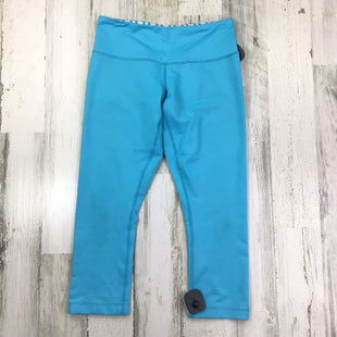 Primary Photo - BRAND: LULULEMON STYLE: ATHLETIC CAPRIS COLOR: BLUE SIZE: 4 OTHER INFO: AS IS HEATHERED SKU: 258-25873-36165