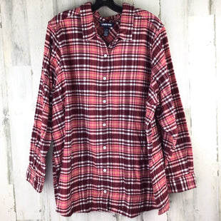 Primary Photo - BRAND: LANDS END STYLE: TOP LONG SLEEVE COLOR: BURGUNDY SIZE: 3X SKU: 258-258111-10720