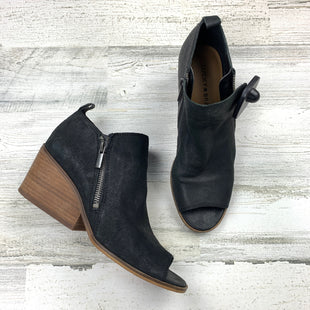 Primary Photo - BRAND: LUCKY BRAND STYLE: BOOTS ANKLE COLOR: BLACK SIZE: 7.5 OTHER INFO: WOOD HEEL SKU: 258-258100-3448