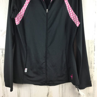 Primary Photo - BRAND: NEW BALANCE STYLE: ATHLETIC JACKET COLOR: BLACK SIZE: M OTHER INFO: SUSAN G. KOMEN SKU: 258-25877-20475