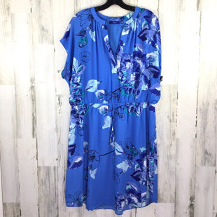 Primary Photo - BRAND: APT 9 STYLE: DRESS SHORT SHORT SLEEVE COLOR: BLUE SIZE: 2X OTHER INFO: FLORAL SKU: 258-258100-2286