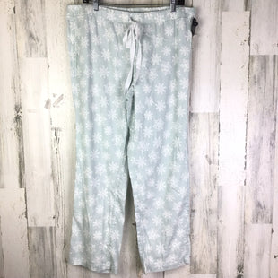 Primary Photo - BRAND: LOFT STYLE: PAJAMA PANTS COLOR: MINT SIZE: L OTHER INFO: WHITE SNOWFLAKES SKU: 258-258100-647