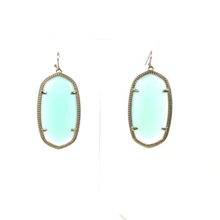 Primary Photo - BRAND: KENDRA SCOTT JEWLERY STYLE: EARRINGS COLOR: MINT OTHER INFO: DANIELLE GOLD HARDWARE SKU: 258-25877-21037