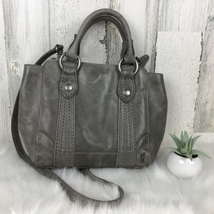 Primary Photo - BRAND: FRYE STYLE: HANDBAG DESIGNER COLOR: GREY SIZE: SMALL OTHER INFO: MELISSA MINI TOTE SKU: 258-25877-16920