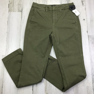 Primary Photo - BRAND: J CREW STYLE: PANTS COLOR: OLIVE SIZE: 0 OTHER INFO: 00 SKU: 258-258121-385