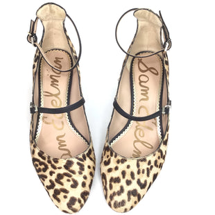 Primary Photo - BRAND: SAM EDELMAN STYLE: SHOES LOW HEEL COLOR: LEOPARD PRINT SIZE: 8.5 OTHER INFO: ANKLE TIE SKU: 258-25877-19817
