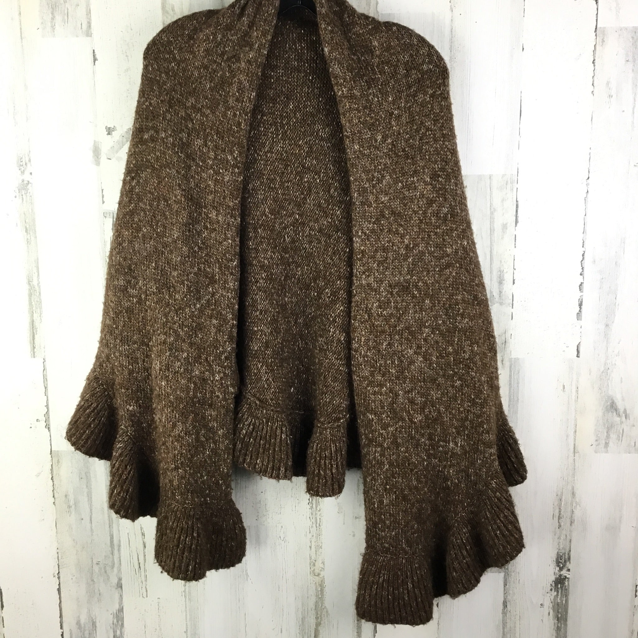 Primary Photo - BRAND: CABI <BR>STYLE: SHAWL <BR>COLOR: BROWN <BR>SIZE: ONESIZE <BR>OTHER INFO: KNITTED <BR>SKU: 258-25885-27165