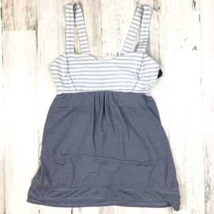 Primary Photo - BRAND: LULULEMON STYLE: ATHLETIC TANK TOP COLOR: GREY SIZE: 8 OTHER: AS IS SKU: 258-25898-13000