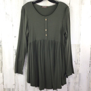 Primary Photo - BRAND:    BOMBOMSTYLE: TOP LONG SLEEVE COLOR: OLIVE SIZE: L OTHER INFO: BOMBOM SKU: 258-258111-9661