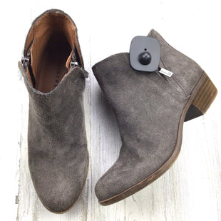 Primary Photo - BRAND: LUCKY BRAND STYLE: BOOTS ANKLE COLOR: GREY SIZE: 6 SKU: 258-258111-10540