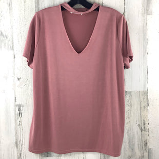 Primary Photo - BRAND: LAVENDER FIELD STYLE: TOP SHORT SLEEVE COLOR: PINK SIZE: L SKU: 258-258111-9132