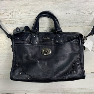Photo #1 - BRAND: COACH STYLE: HANDBAG DESIGNER COLOR: BLACK SIZE: SMALL OTHER INFO: CROSSBODY SOLID SKU: 258-25898-7666