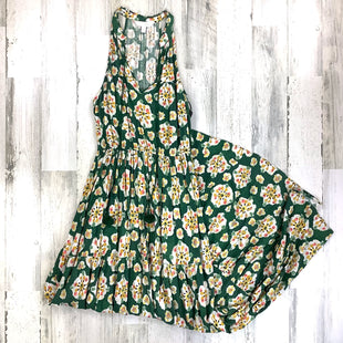 Primary Photo - BRAND: LC LAUREN CONRAD STYLE: DRESS LONG SLEEVELESS COLOR: GREEN SIZE: S SKU: 258-25873-38731