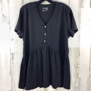 Primary Photo - BRAND: TERRA & SKY STYLE: TOP SHORT SLEEVE COLOR: BLACK SIZE: XL SKU: 258-25898-12463