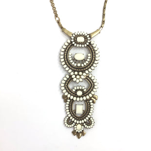 Primary Photo - BRAND: STELLA AND DOT STYLE: NECKLACE COLOR: WHITE OTHER INFO: SC STATEMENT SKU: 258-258111-11521