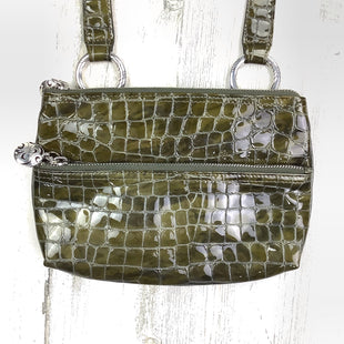 Primary Photo - BRAND: BRIGHTON O STYLE: HANDBAG DESIGNER COLOR: OLIVE SIZE: SMALL OTHER INFO: PATENT SKU: 258-258111-5571