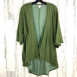Primary Photo - BRAND: LULAROE STYLE: COVERUP COLOR: GREEN SIZE: S SKU: 258-258113-9223