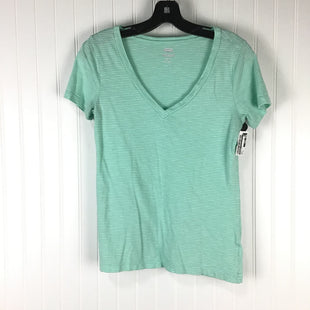 Primary Photo - BRAND: OLD NAVY STYLE: TOP SHORT SLEEVE BASIC COLOR: GREEN SIZE: XS SKU: 258-25885-30814