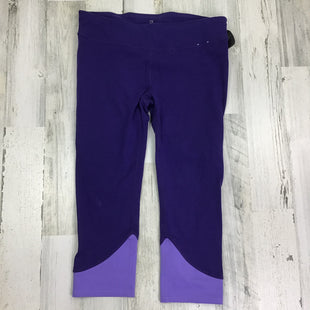 Primary Photo - BRAND: GAPFIT STYLE: ATHLETIC CAPRIS COLOR: PURPLE SIZE: M OTHER INFO: COLORBLOCK SKU: 258-25873-35304