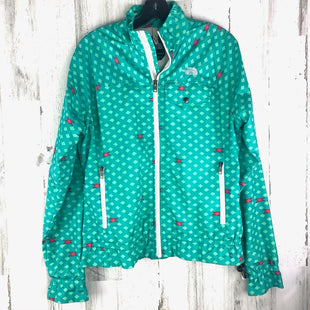 Primary Photo - BRAND: NORTHFACE STYLE: JACKET OUTDOOR COLOR: GREEN SIZE: L OTHER INFO: DIAMOND PRINT SKU: 258-25873-37212