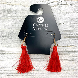 Primary Photo - BRAND:    CLOTHES MENTOR STYLE: EARRINGS COLOR: RED OTHER INFO: 9 SKU: 258-25873-37969