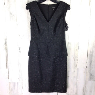 Primary Photo - BRAND: ANN TAYLOR STYLE: DRESS SHORT SLEEVELESS COLOR: BLACK SIZE: XS OTHER INFO: SPECKLED W/ WHITE SKU: 258-25871-8070
