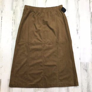 Primary Photo - BRAND: J JILL STYLE: SKIRT COLOR: BROWN SIZE: 0 SKU: 258-258111-4384