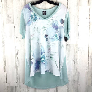 Primary Photo - BRAND: BOBEAU STYLE: TOP SHORT SLEEVE COLOR: MINT SIZE: 1X SKU: 258-25871-11802