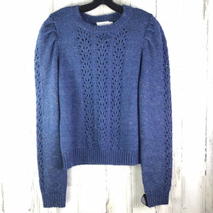 Primary Photo - BRAND:    CLOTHES MENTOR STYLE: SWEATER LIGHTWEIGHT COLOR: NAVY SIZE: L OTHER INFO: NWT SKU: 258-25898-11762