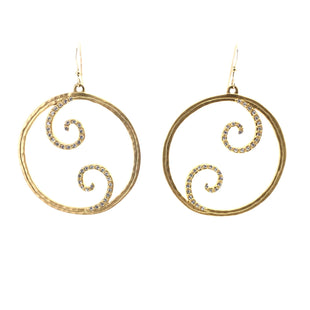 Primary Photo - BRAND:  CME STYLE: EARRINGS COLOR: GOLD OTHER INFO: 1 SKU: 258-25885-33181