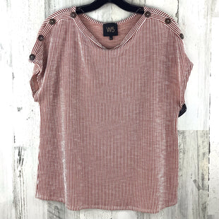 Primary Photo - BRAND: W5 STYLE: TOP SHORT SLEEVE BASIC COLOR: RUBY SIZE: L SKU: 258-25840-16774