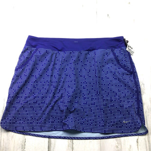 Primary Photo - BRAND: NIKE APPAREL STYLE: ATHLETIC SKIRT SKORT COLOR: BLUE SIZE: XL SKU: 258-25873-38993