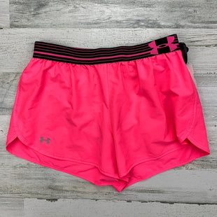 Primary Photo - BRAND: UNDER ARMOUR STYLE: ATHLETIC SHORTS COLOR: PINK SIZE: S OTHER INFO: NEON SKU: 258-25873-36191