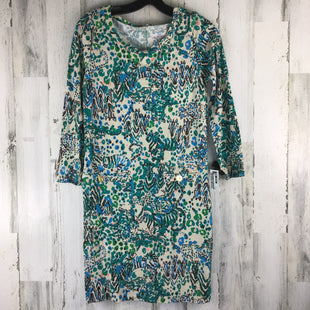 Primary Photo - BRAND: LILLY PULITZER STYLE: DRESS SHORT LONG SLEEVE COLOR: GREEN SIZE: S SKU: 258-25873-39338