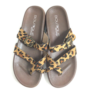 Primary Photo - BRAND: CORKYS STYLE: SANDALS FLAT COLOR: BROWN SIZE: 8 SKU: 258-25873-37772