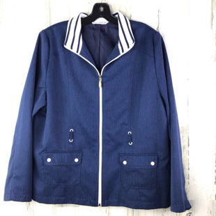 Primary Photo - BRAND: ALLISON DALEY STYLE: JACKET OUTDOOR COLOR: BLUE SIZE: L SKU: 258-25885-30331