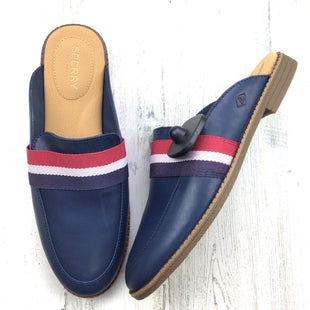 Primary Photo - BRAND: SPERRY STYLE: SHOES FLATS COLOR: NAVY SIZE: 9 OTHER INFO: MULE SKU: 258-25885-32936