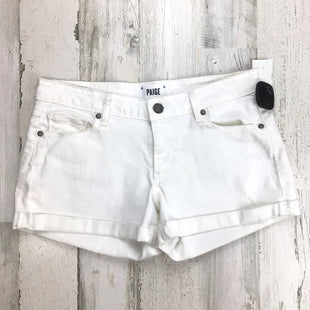 Primary Photo - BRAND: PAIGE STYLE: SHORTS COLOR: WHITE SIZE: 0SKU: 258-258113-11450