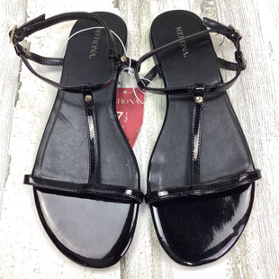 Primary Photo - BRAND: MERONA STYLE: SANDALS FLAT COLOR: BLACK SIZE: 7.5 OTHER INFO: NWT! SKU: 258-25877-17965