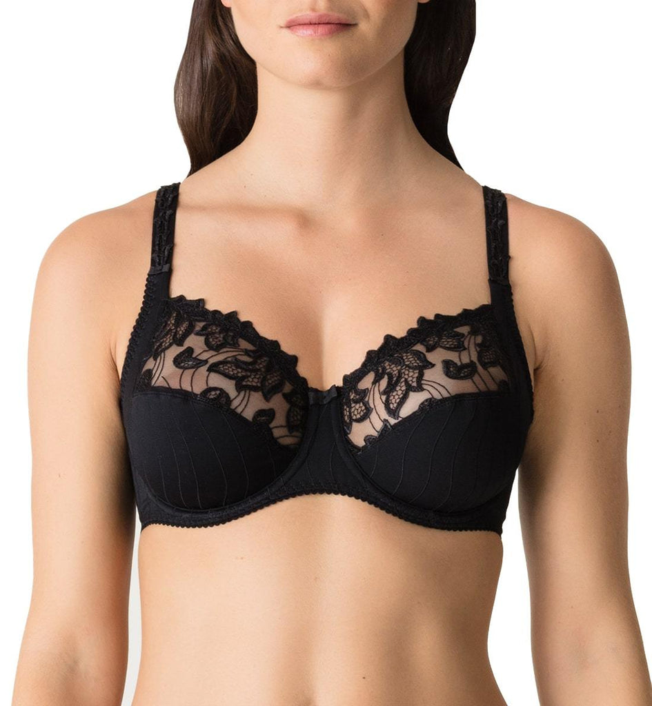 PrimaDonna Bras - Deauville 0161810  & 0161811 - Black SPECIAL OFFER FREE EXPRESS SHIPPING