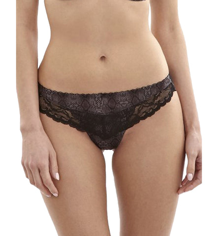 Panache Panties - Jasmine Brief 6955 - Black Animal
