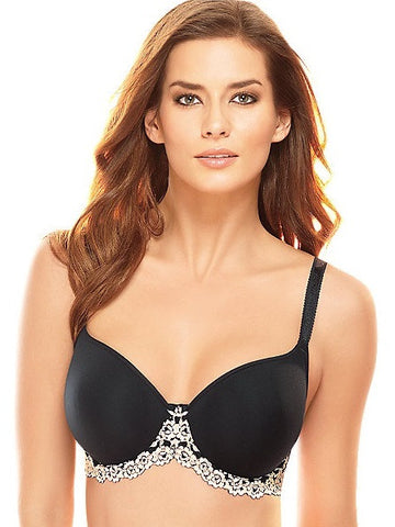 Wacoal Bras - Embrace Lace 853191 - Black SPECIAL OFFER FREE EXPRESS SHIPPING