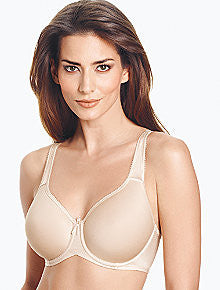 wacoal bra- Basic Beauty Spacer Underwire T-Shirt Bra - 853192 nude.
