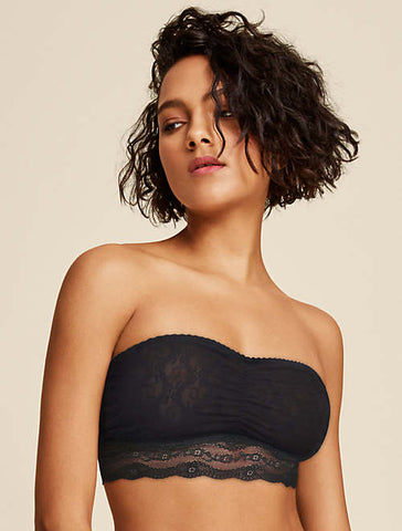 B.tempt'd Bandeau - Lace Kiss 916182 - Black FINAL SALE