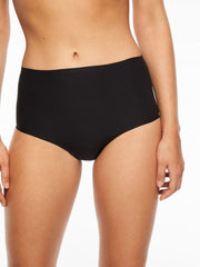 Chantelle Panties - Soft Stretch Seamless Full Brief in One Size 2647 - Black